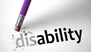 eraser on disability